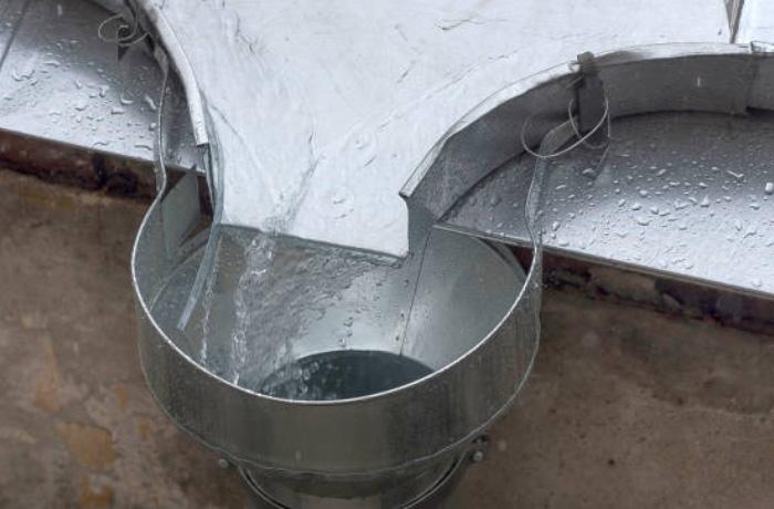 Installatiebedrijf van Grinsven hemelwaterafvoer